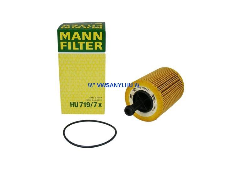 Olajszürő 1,4 - 2,0 pdtdi Mann Filter HU719/7X