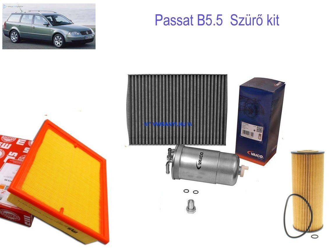 Olajcsere szett VW PASSAT 3B 2001- 1,9 PDTDI