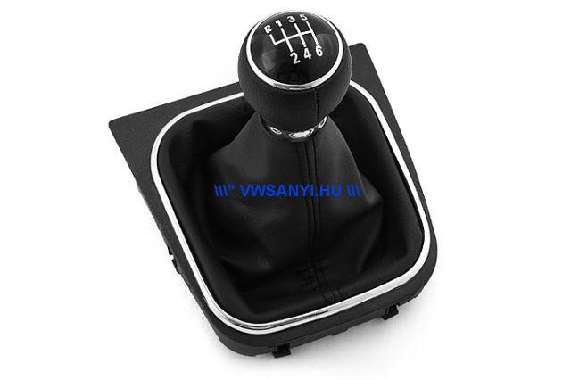 Váltógomb szoknyával VW GOLF 5 , JETTA 6 sebességes !