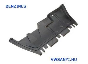 Benzines Motorvédő alsó müanyag középre