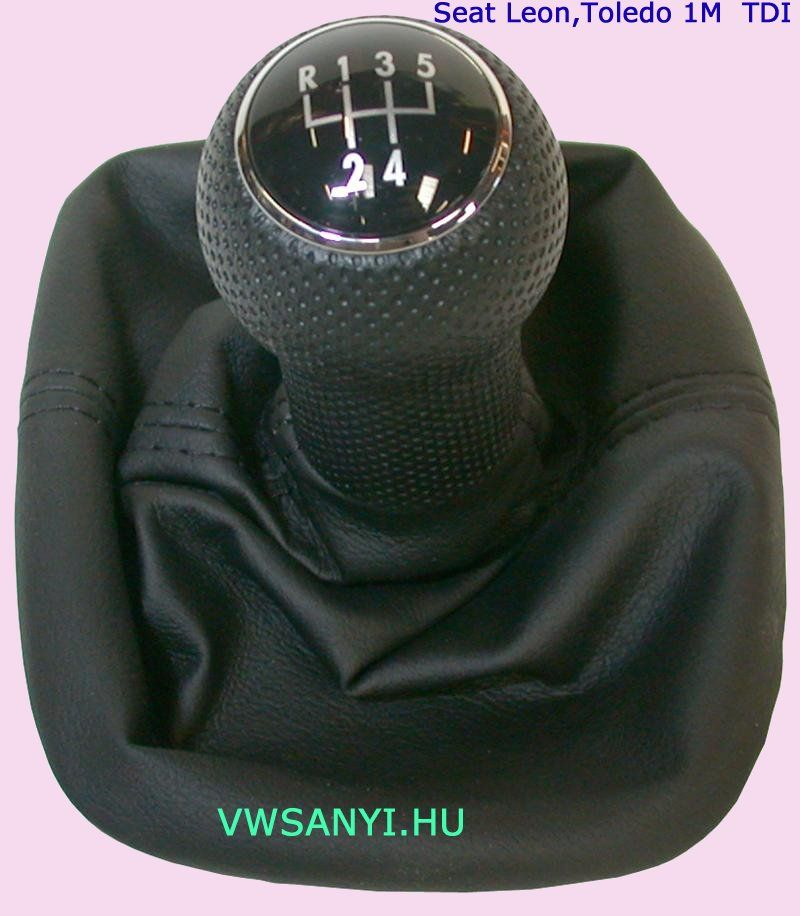 Váltószoknya + Gomb Seat Leon , Toedo 1M 1999-2004 1,9 TDI