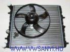 Vízhütő + Ventilátor Fabia , Polo 9N