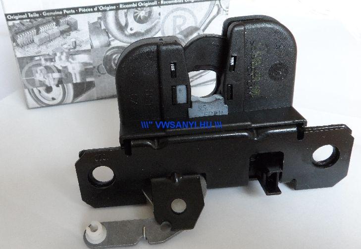 Hátsó csomagtérajtó zárszerkezet mikrokapcsolóval VW Passat B5 Variant 1997-2000