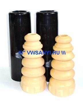 Hátsó lengéscsillapitó ütköző gumi + porvédő kupak KIT Passat 3C 2005 -