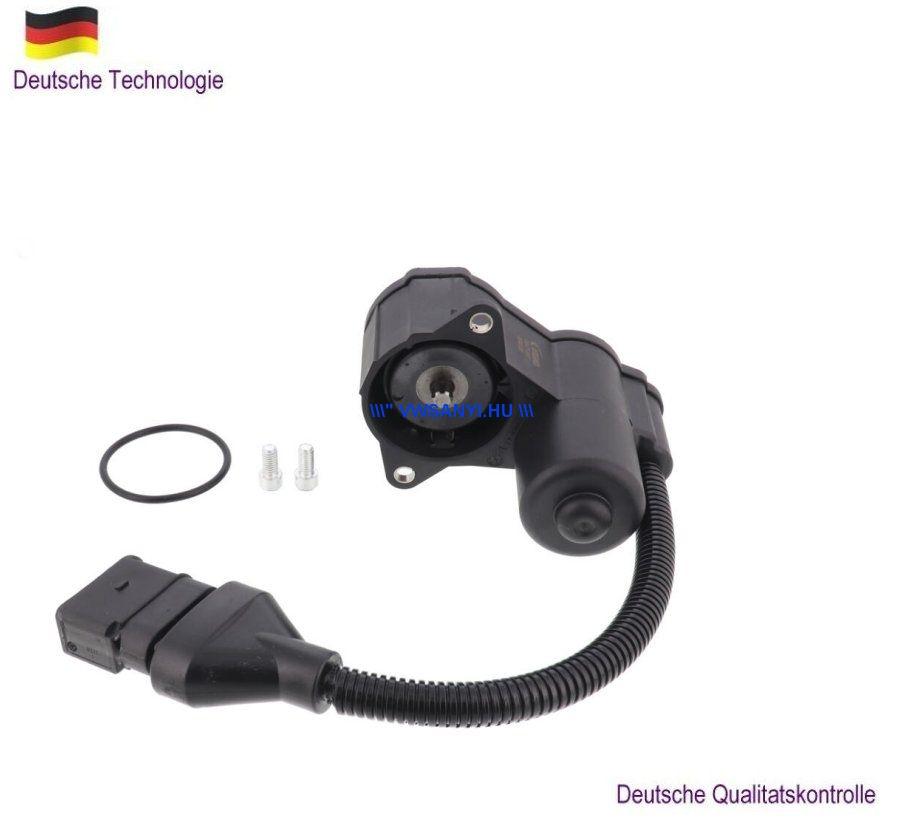 Hátsó kézifék motor komplett féknyereggel Audi A8 2004 -