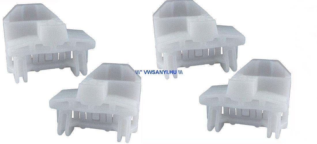 Ablakemelő szerkezet műanyag javitó csuszka készlet bal és jobb első